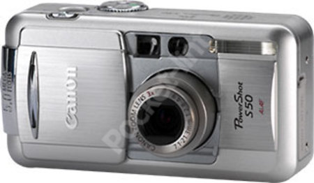 Canon Powershot S50 review