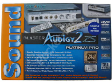 Creative Audigy 2 ZS 7.1 Sound Card review