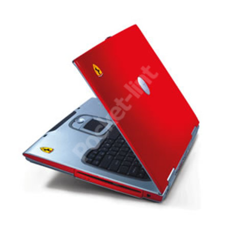 Acer Ferrari 3200 laptop - EXCLUSIVE review