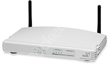 3Com ADSL Wireless 11g Firewall Router