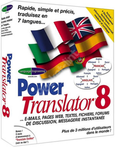 Power Translator Pro 8 - PC