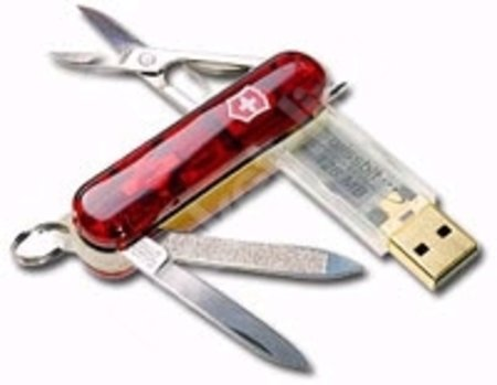 Swiss Memory USB knife