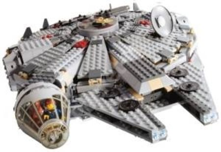 LEGO Star Wars 4504 Millennium Falcon review