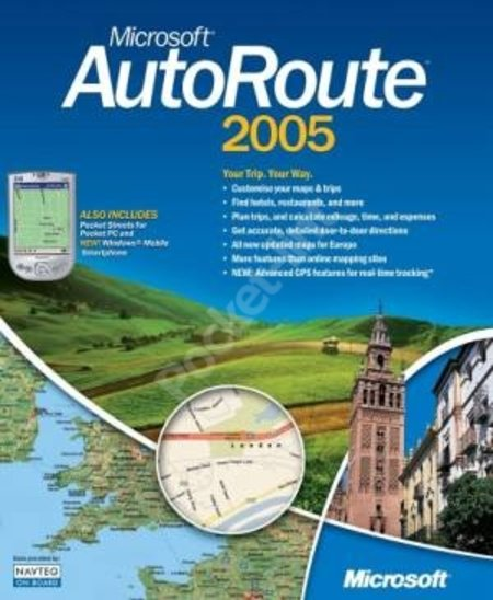Microsoft AutoRoute 2005 review