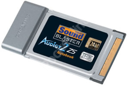 Creative Sound Blaster Audigy 2 ZS Notebook review
