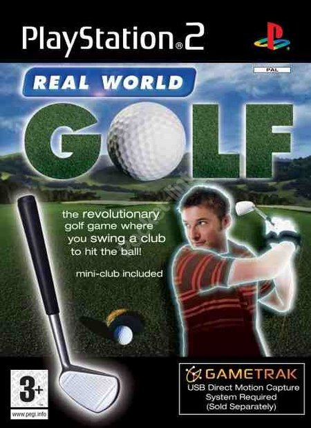 Gametrak Real World Golf - PS2
