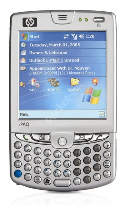 HP IPAQ HW6515 Mobile Messenger review