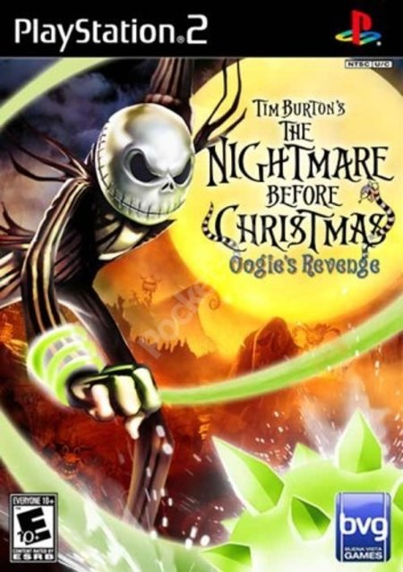 Nightmare before Christmas - Oogies revenge
