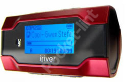iriver T30 MP3 player