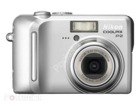 Nikon Coolpix P2 digital camera