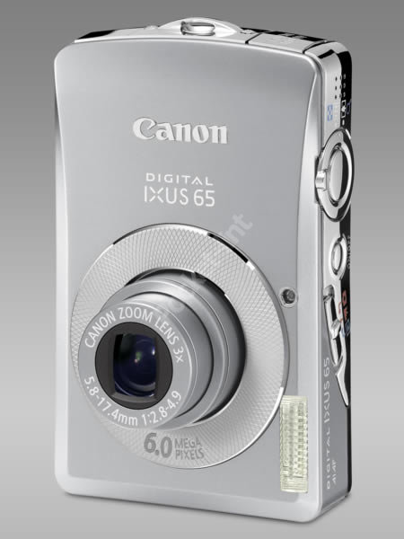Canon Ixus 65 digital camera - FIRST LOOK