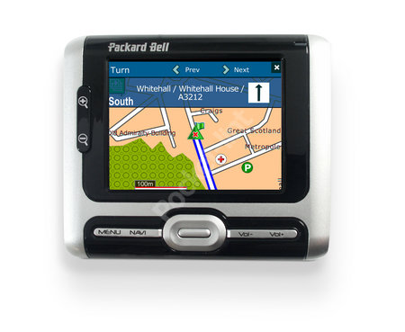Packard Bell GPS 400 GPS receiver review