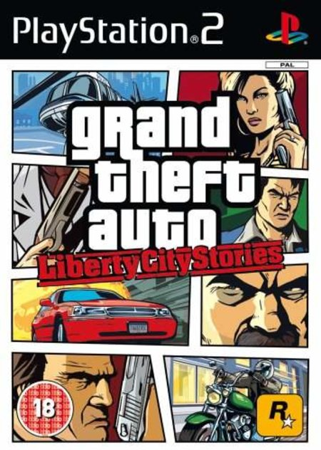 Grand Theft Auto: Liberty City Stories - PS2