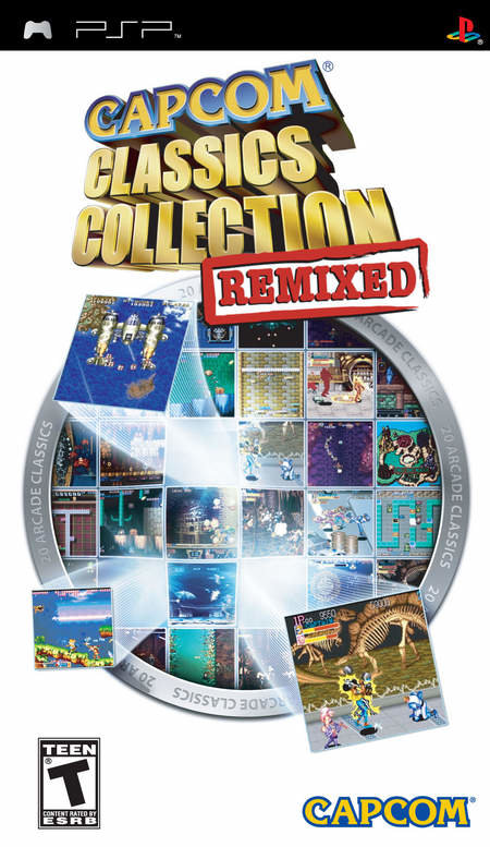 Capcom Classics Collection Remixed - PSP review