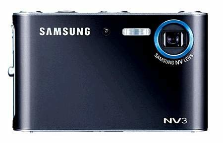 Samsung NV3 digital camera - EXCLUSIVE