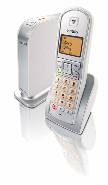 Philips VoIP321 Skype phone