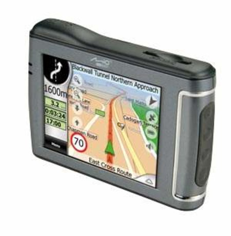 Mio C510E GPS receiver review