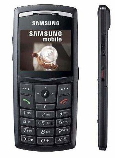 Samsung Ultra SGH-X820 mobile phone