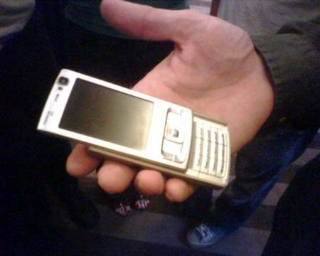 Nokia N95 - FIRST LOOK
