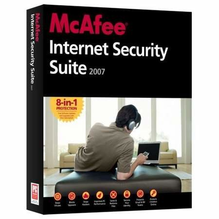 McAfee Internet Security Suite 2007