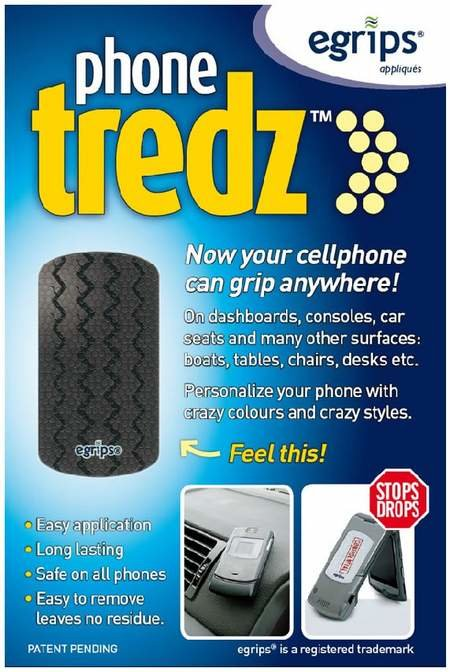 Phone Tredz mobile phone grips