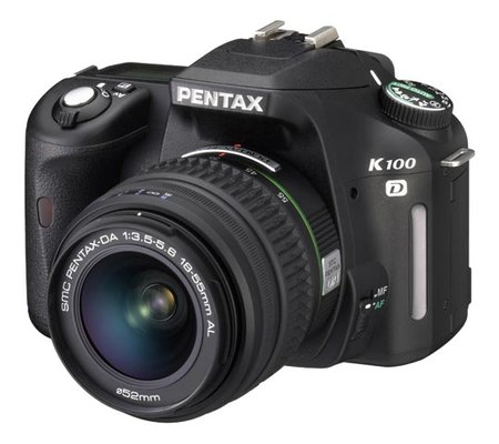 Pentax K100 D DSLR digital camera