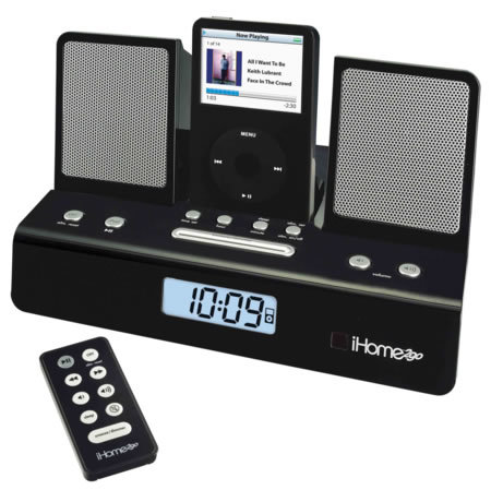 iHome2go iPod speaker alarm clock review