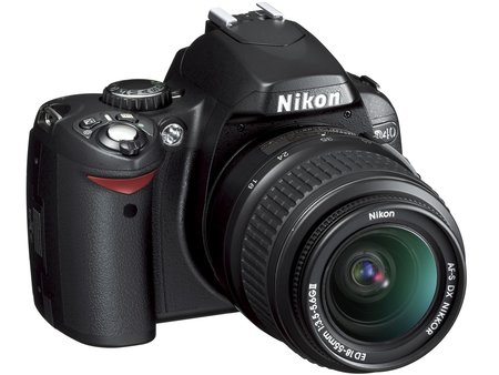 Nikon D40 DSLR camera - FIRST LOOK