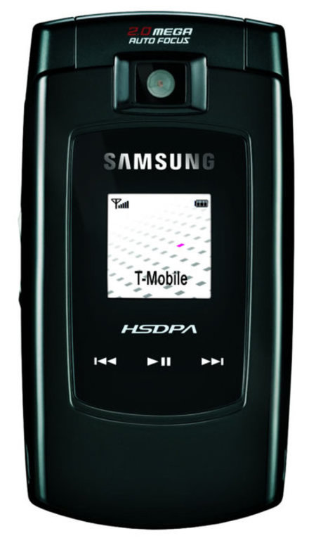 Samsung SGH-Z560 HSDPA mobile phone review