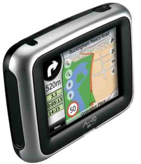 Mio C250 GPS receiver review