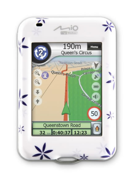 Mio H610 GPS receiver review
