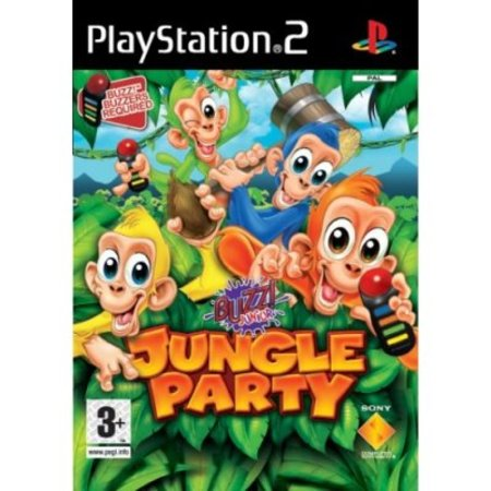 Buzz! Junior: Jungle Party - PS2