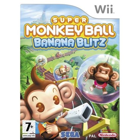 Super Monkey Ball Banana Blitz - Nintendo Wii