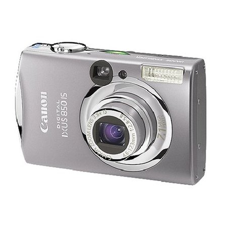 Canon IXUS 850IS digital camera review
