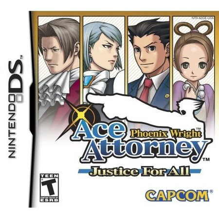 Phoenix Wright: Ace Attorney Justice For All - Nintendo DS