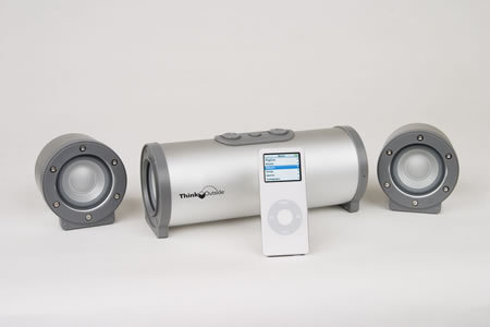 ThinkOutside BoomTube H20 speakers
