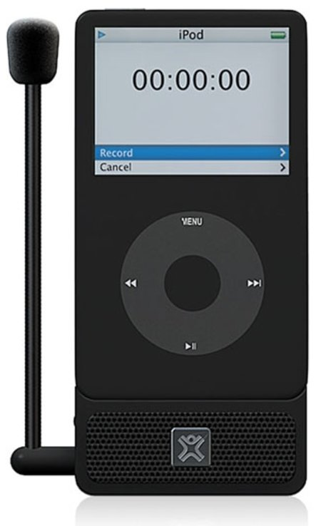 MicroMemo voice recorder for iPod review