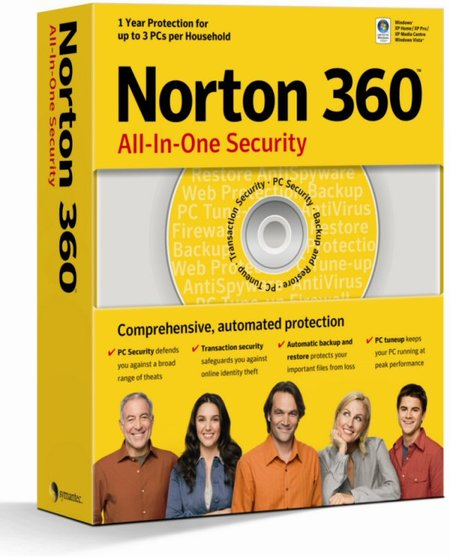 Symantec Norton 360 - PC review