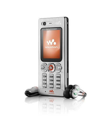 Sony Ericsson Walkman W880 mobile phone