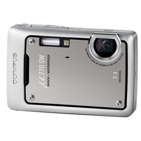 Olympus Mju 770SW digital camera review