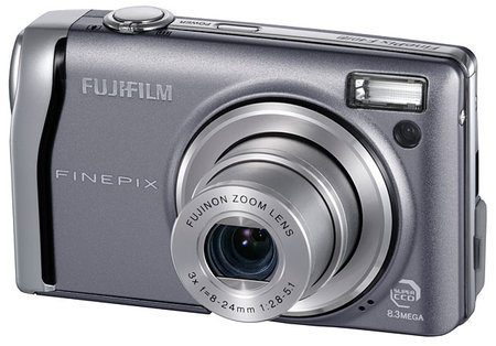 Fujifilm FinePix F40fd digital camera review