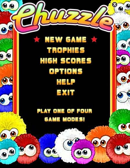 Chuzzle - mobile phone game