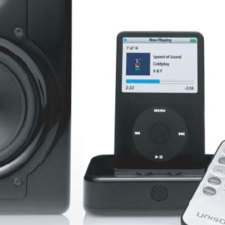 Cygnett Unison i-X5 iPod speakers