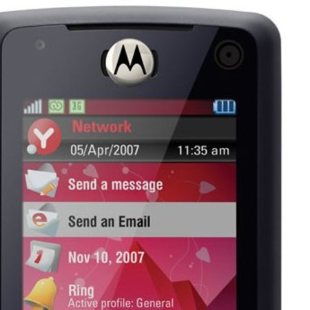 Motorola Z8 mobile phone