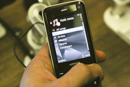 Nokia N81 mobile phone review - photo 5