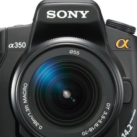 Sony Alpha 350 digital camera