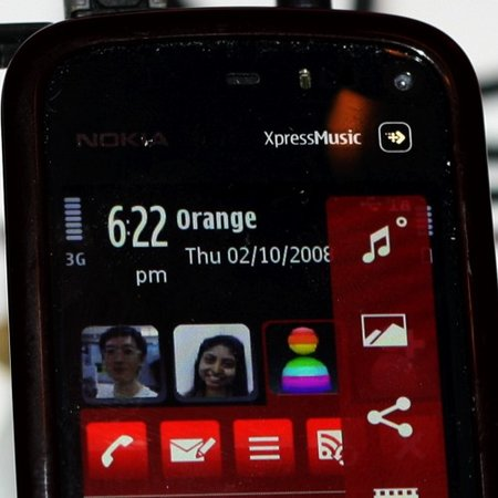 Nokia 5800 XpressMusic mobile phone - First Look