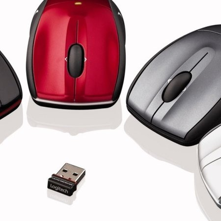 Logitech V450 Nano Cordless Laser Mouse for Notebooks