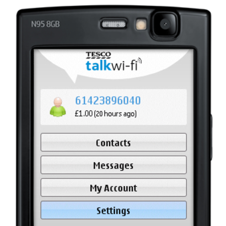 Tesco Talkwi-fi VoIP