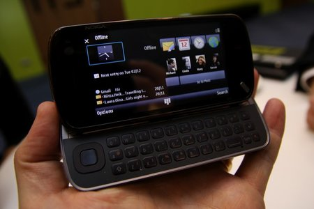 Nokia N97 mobile phone - First Look - photo 7